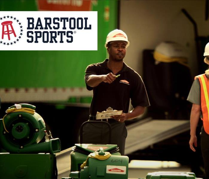 Barstool Sports & SERVPRO of Washington County Promotion