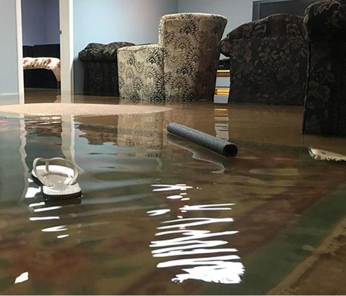 Commercial Hotel Lobby Flood